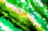 绿色马赛克背景