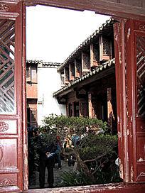 周庄沈厅古典庭院