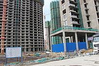 住宅小区建筑工地