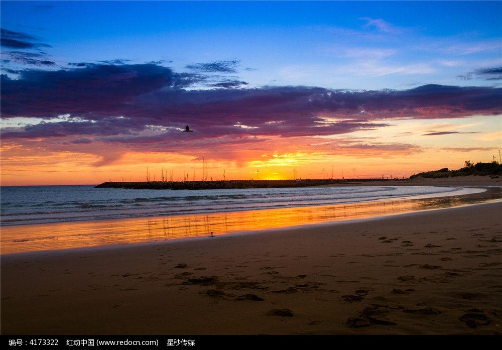 原创摄影图 自然风景 江河湖泊 阿波罗港迷人的港口海滩  请您分享