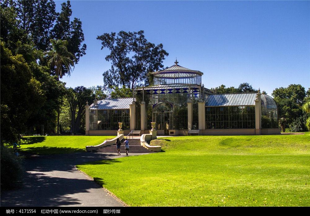 澳大利亚现代建筑全景玻璃馆图片