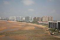 滨海城市 沙滩 海边 海景房