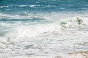 大海海水浪花