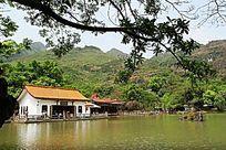 贵州安顺 天星湖湖光山色