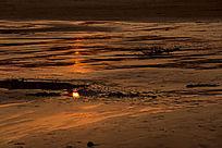 海中日出图片