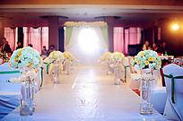 结婚婚礼会场 布置现场布置