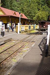 墨尔本蒸汽小火车车站