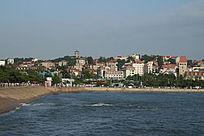 青岛海边城市