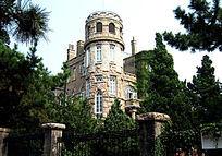 青岛旅游 老建筑 教堂