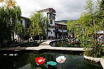 束河古镇风景