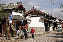 束河古镇街景