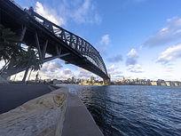 澳大利亚悉尼港大桥全景图
