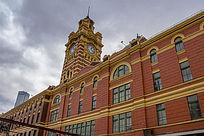 澳洲墨尔本费兰德林火车站