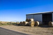澳洲农场上的仓库