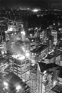 澳洲悉尼城市夜景