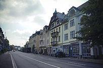 巴登巴登的街道
