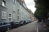 巴登巴登的住宅区
