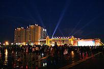 包头市广场之夜