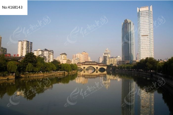 成都安顺桥平时高清图片下载_红动网