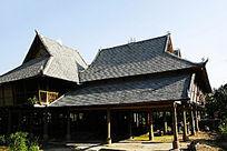 傣族人家民居