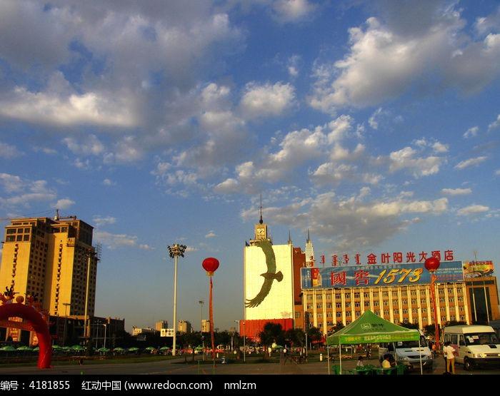 呼和浩特城市风景图片