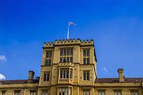 墨尔本大学的旗子