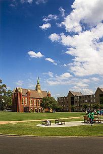 墨尔本大学校园风光
