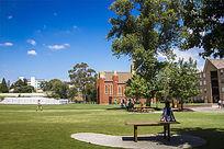 墨尔本大学校园建筑和校园风光