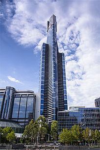 墨尔本的高层办公楼