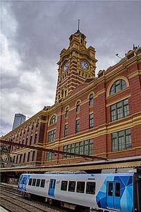墨尔本费兰德林火车站