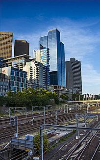 墨尔本中央火车站