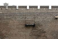 平遥古城古城墙歼敌武器