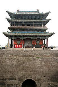 平遥古城瓮城城楼
