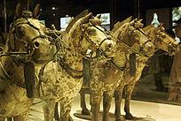 秦始皇铜马车的铜马