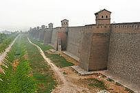 山西 平遥古城的古城墙