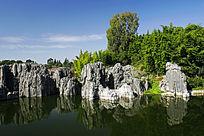 石林地质公园湖泊景观