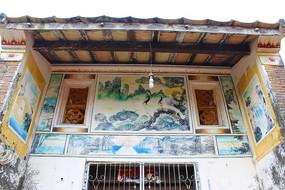 文昌天赐村古屋壁画