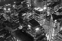 星光璀璨的悉尼城市夜景