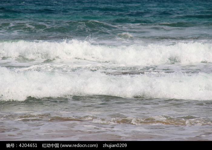 海洋海浪图片,高清大图