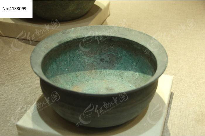 汉代铜钵图片