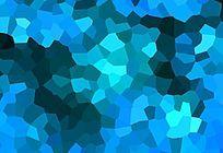 蓝色色块背景