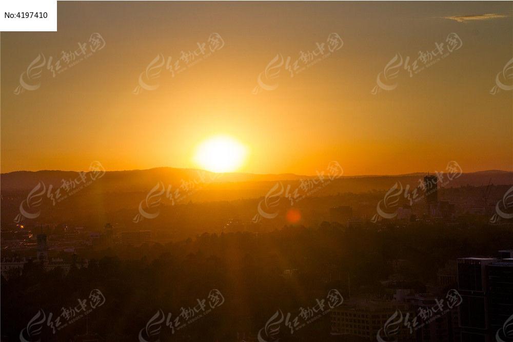 日出日落景观