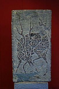 神鹿汉画石雕