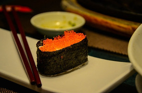 西餐厅的寿司