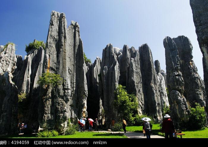 壮美的石林风景区