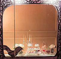 蛋糕主题橱窗