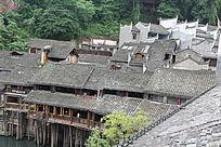 砖木结构古楼
