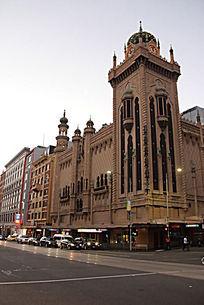 澳洲复古商业广场