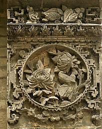 广州金花庙砖雕图案