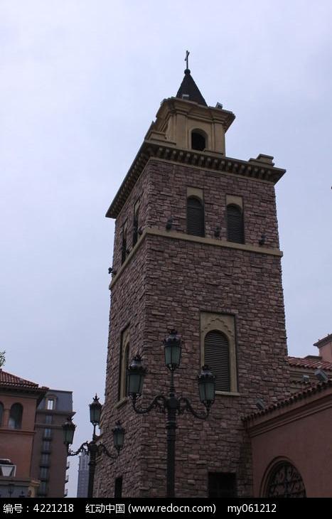 欧式建筑特写图片图片